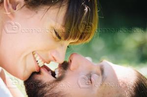 Il bacio mordicchiato