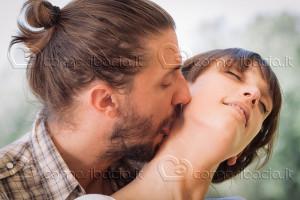 Il bacio sul collo